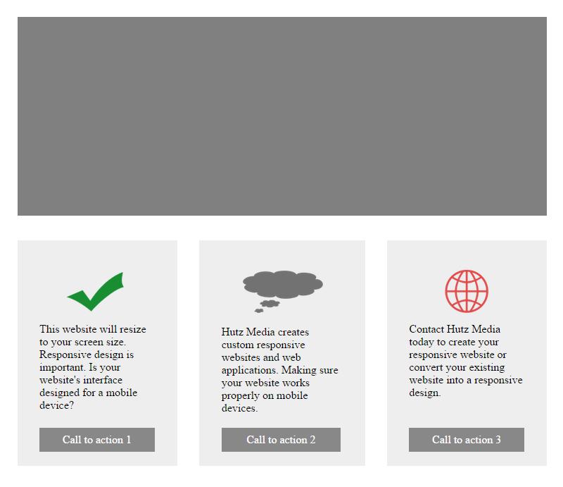 Responsive web design for Responsive stylesheet template